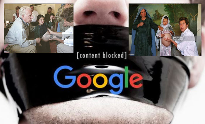 Google censure internet