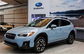 Publicité Subaru